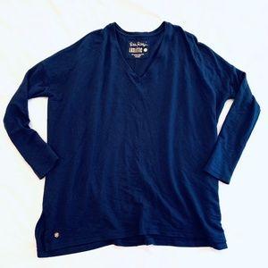Lilly Pulitzer Luxletic Activewear Navy Blue XXS